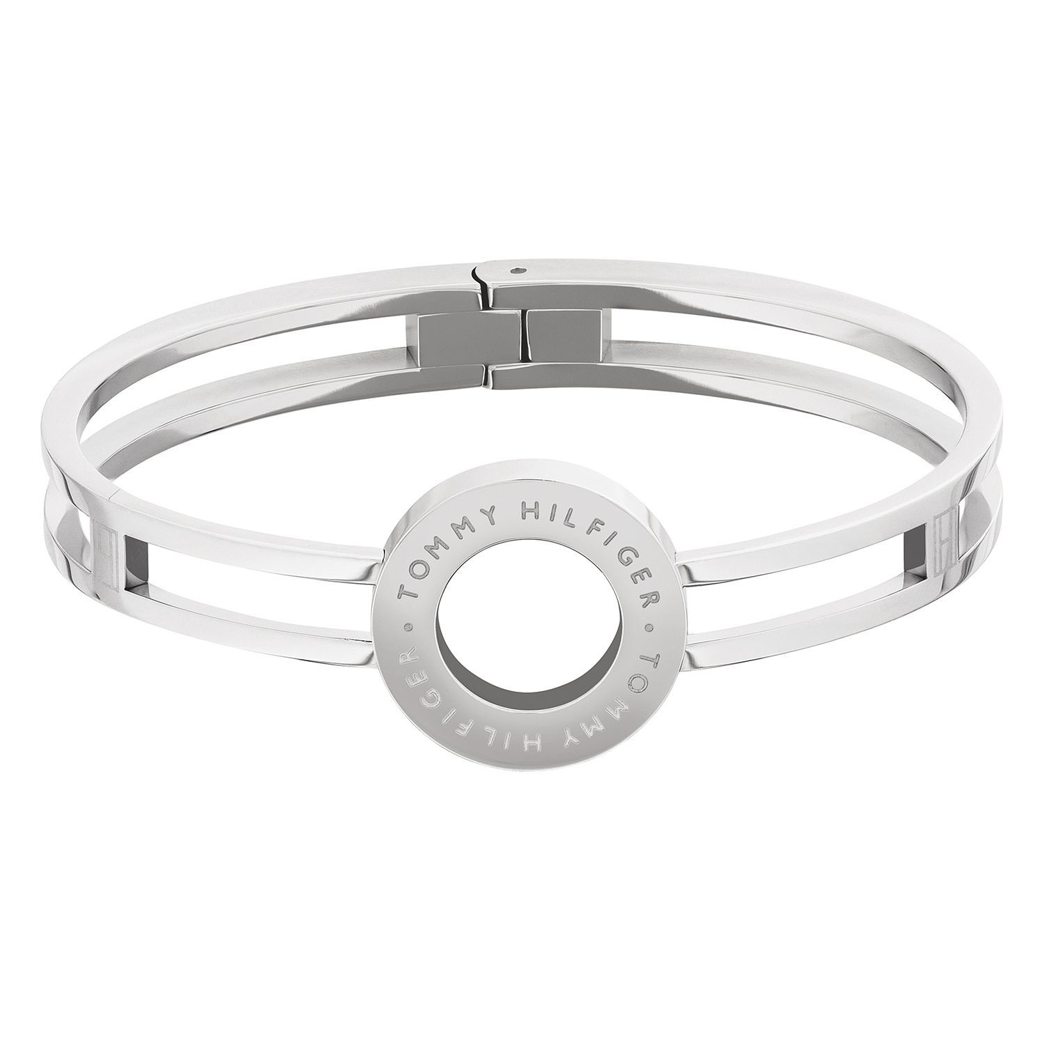 Tommy Hilfiger Stainless Steel Circle Hinged Bangle - Product number 5228328