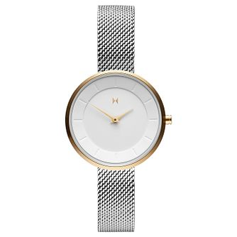MVMT Mod Ladies' Stainless Steel Mesh Bracelet Watch - Product number 5231078