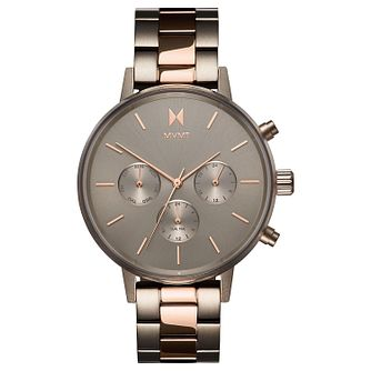 MVMT Nova Ladies' Taupe IP Bracelet Watch - Product number 5231582