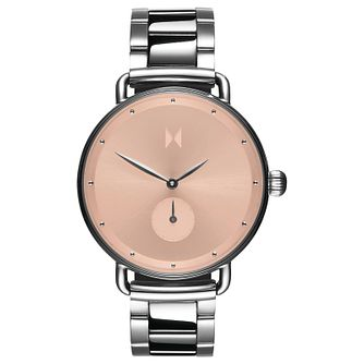 MVMT Bloom Ladies' Silver Tone IP Bracelet Watch - Product number 5232341