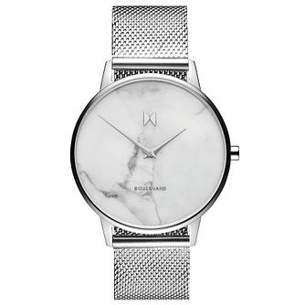 MVMT Boulevard Ladies' Stainless Steel Mesh Bracelet Watch - Product number 5232465