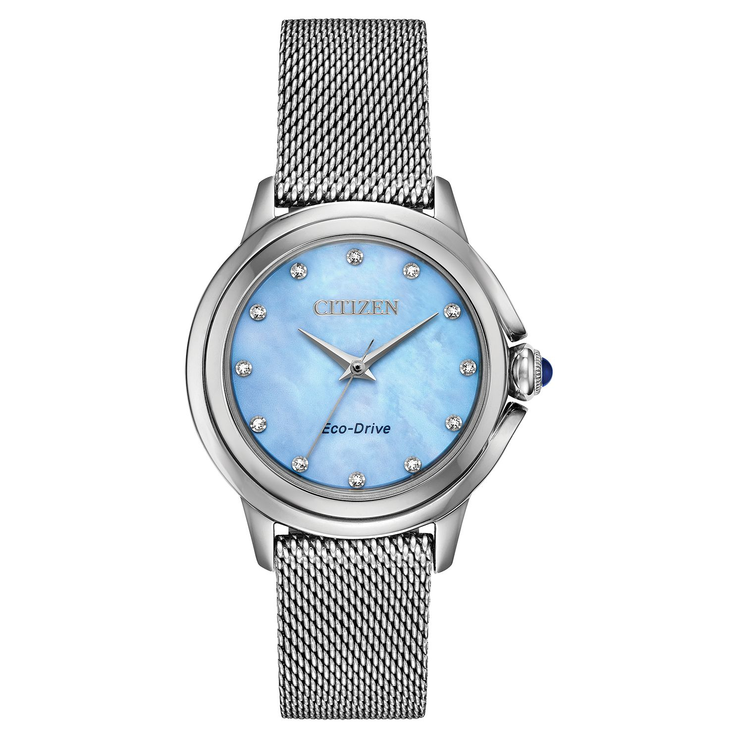 Citizen Eco-Drive Ceci Diamond Ladies' Mesh Bracelet Watch - Product number 5234212