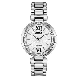 Citizen Eco-Drive Capella Diamond Ladies' Bracelet Watch - Product number 5234689