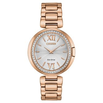 Citizen Eco-Drive Capella Diamond Ladies' Bracelet Watch - Product number 5234727