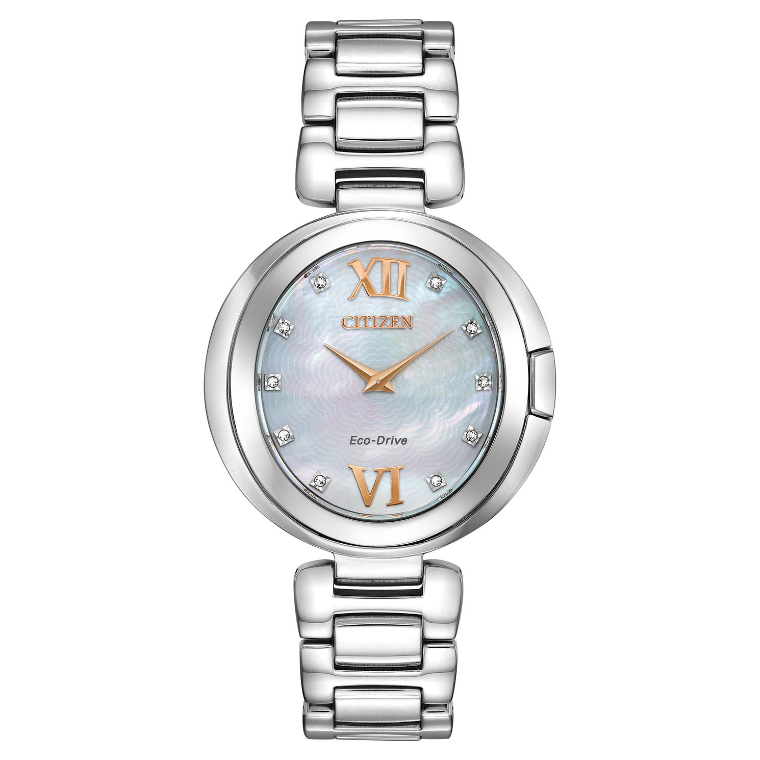 Citizen Eco-Drive Capella Diamond Ladies' Bracelet Watch - Product number 5234816