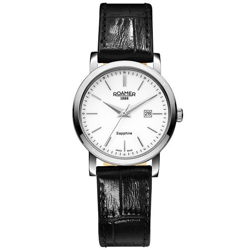 Roamer Super Slender Ladies' Stainless Steel Strap Watch - Product number 5235243