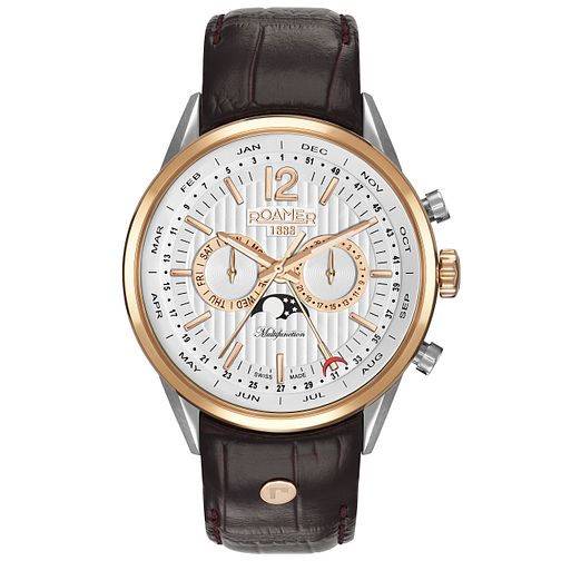 Roamer Superior Business Multifunction Men's Strap Watch - Product number 5235308
