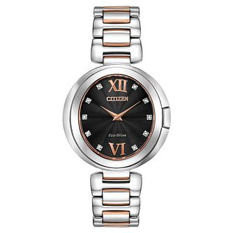 Citizen Eco-Drive Capella Diamond Ladies' Bracelet Watch - Product number 5235456