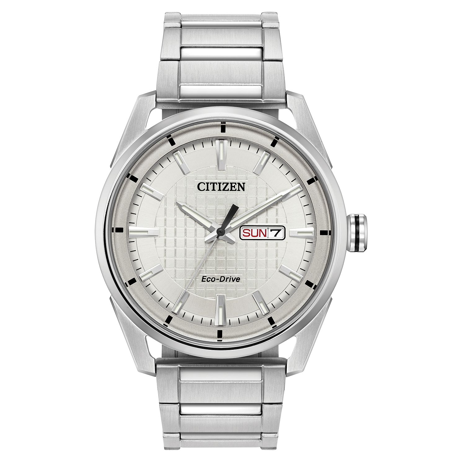Citizen Eco-Drive Men's Stainless Steel Bracelet Watch - Product number 5235480