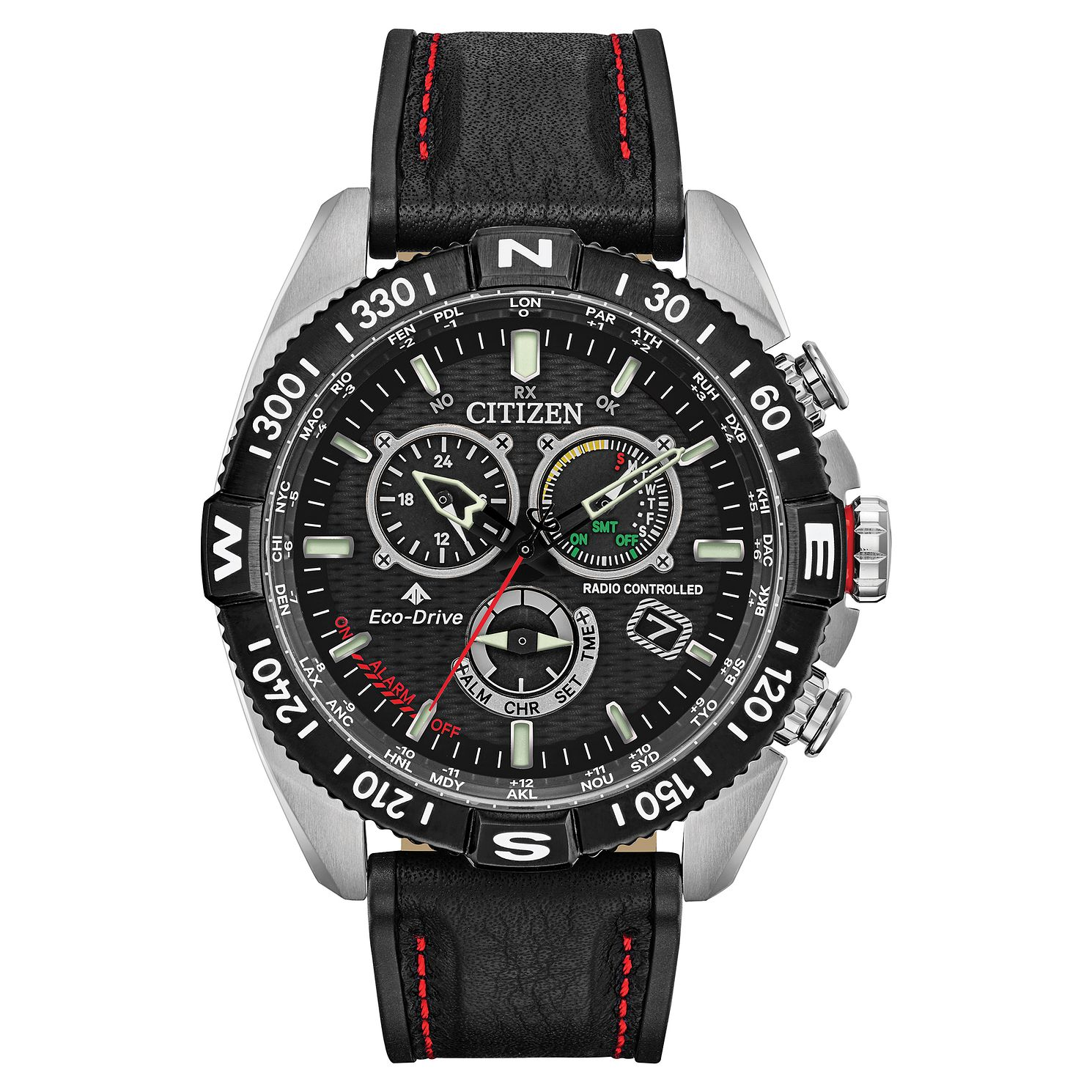 Citizen Eco-Drive Promaster Navihawk Men's Black Strap Watch - Product number 5235707