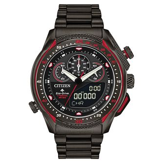 Citizen Eco-Drive Promaster SST Black IP Bracelet Watch - Product number 5235715