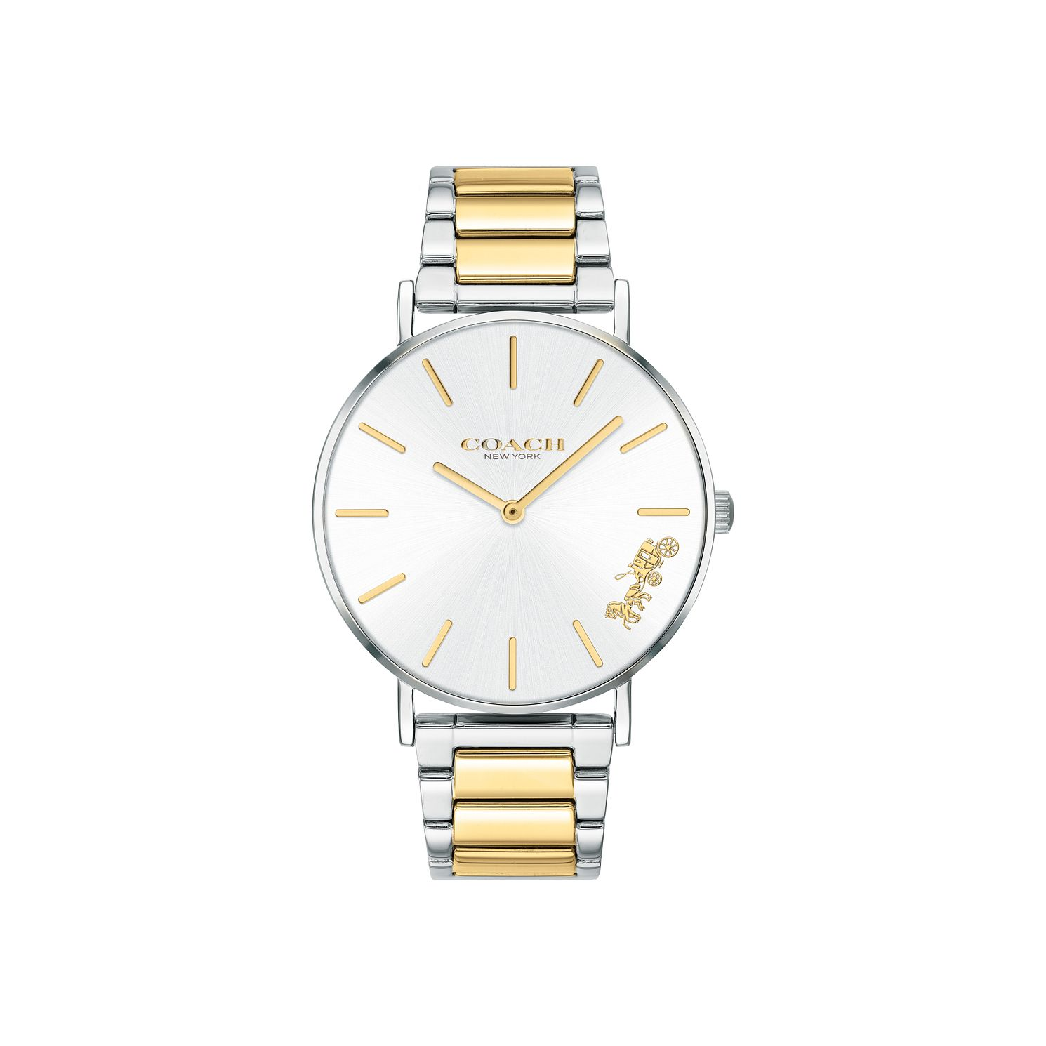 Coach Perry Ladies' Two Tone IP Bracelet Watch - Product number 5235804