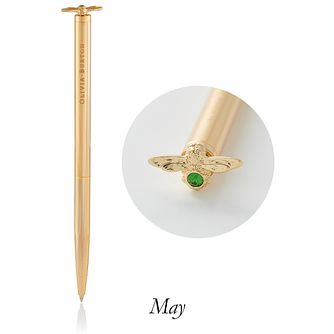Olivia Burton Celebration Bee Gold Tone & Crystal Pen - Product number 5239621