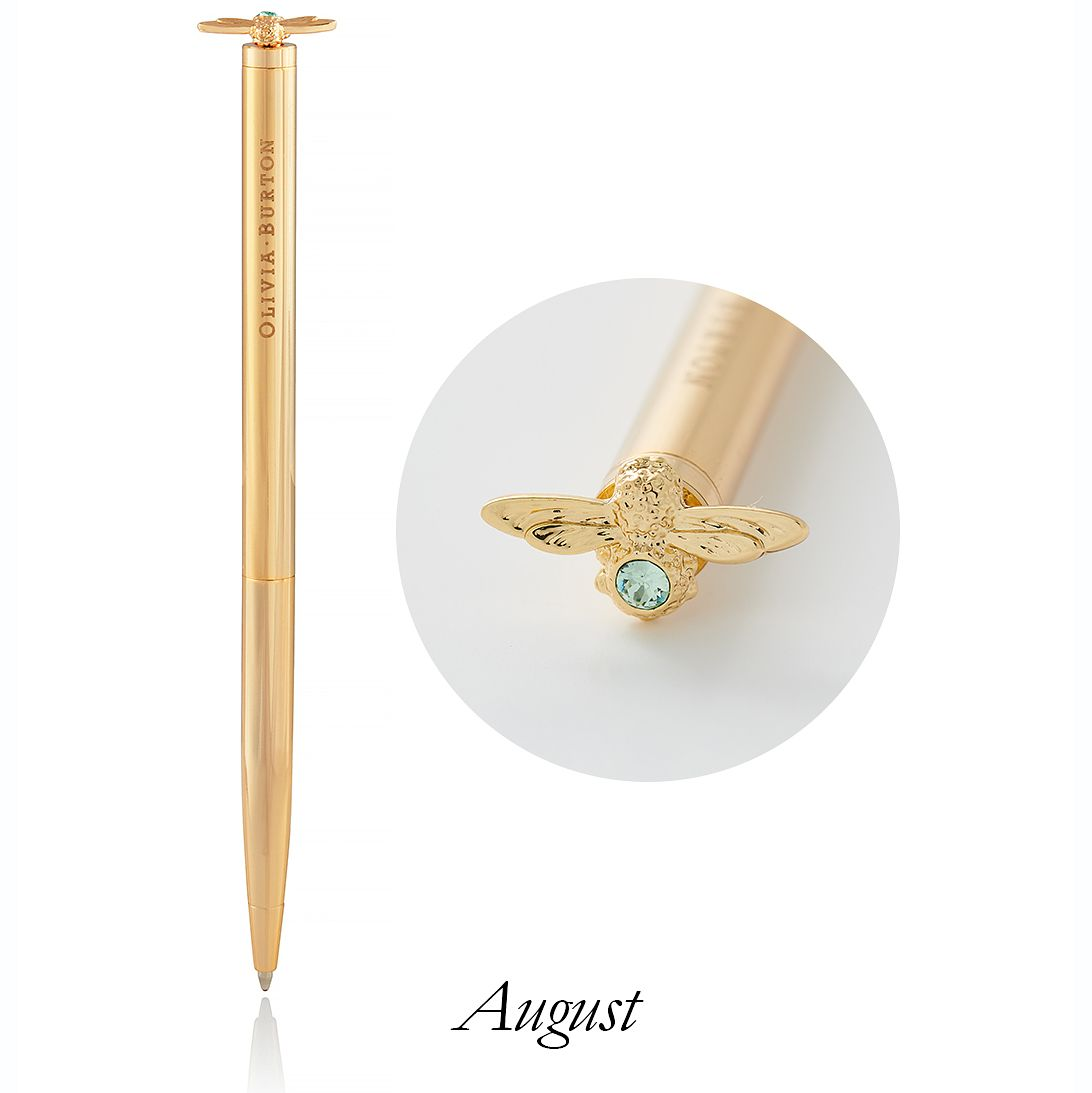 Olivia Burton Celebration Bee Gold Tone & Crystal Pen - Product number 5239664