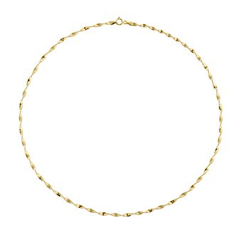 9ct Yellow Gold 18 Inch Herringbone Chain - Product number 5241715