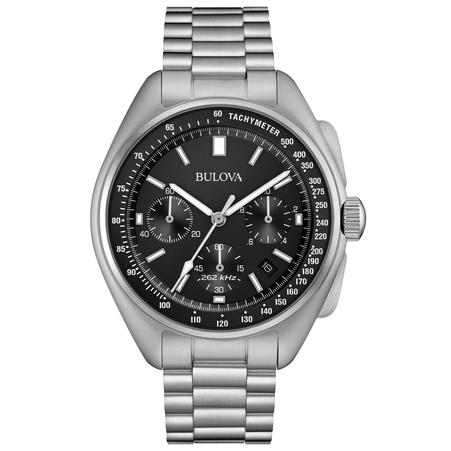 Bulova Lunar Pilot Chronograph Men's Stainless Steel Watch - Product number 5242088