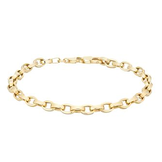 9ct Yellow Gold 7.5 Inch Belcher Chain Bracelet - Product number 5242150