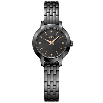 BOSS Ladies' Ip Plated Bracelet Watch - Product number 5245400