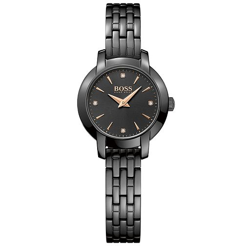 Hugo Boss Ladies' IP Plated Bracelet Watch - Product number 5245400