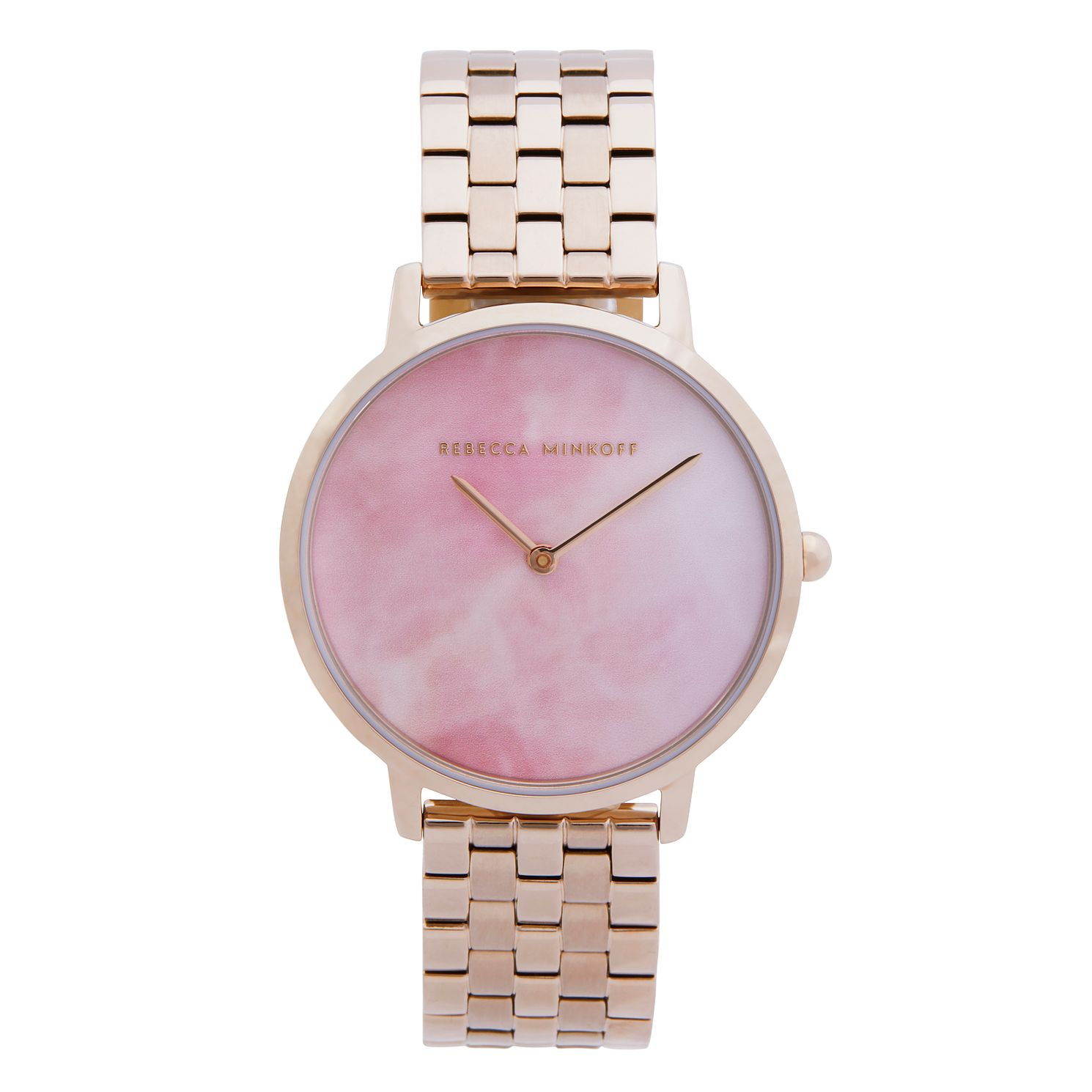 Rebecca Minkoff Major Ladies' Rose Gold Tone Bracelet Watch - Product number 5246113