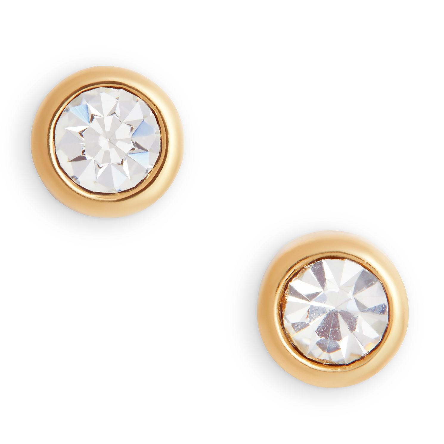 Olivia Burton Bejewelled Gold Tone Crystal Stud Earrings - Product number 5247322
