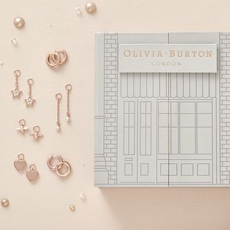 Olivia Burton Rose Gold Tone Huggie Earring Gift Set - Product number 5247454
