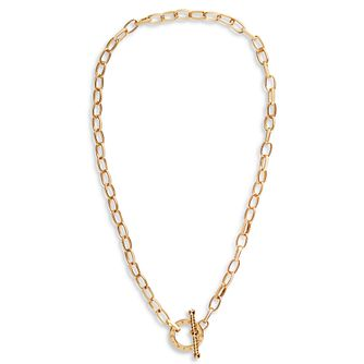 Olivia Burton Bejewelled Gold Tone T-Bar Necklace - Product number 5247748