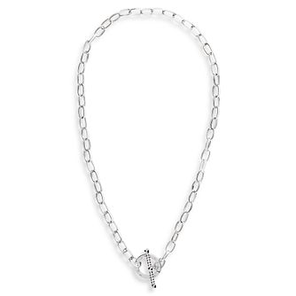 Olivia Burton Bejewelled Silver Tone T-Bar Necklace - Product number 5247780
