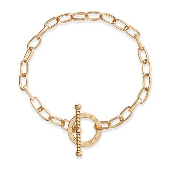 Olivia Burton Bejewelled Gold Tone T-Bar Bracelet - Product number 5247888