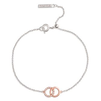 Olivia Burton Bejewelled Interlink Two Tone Bracelet - Product number 5247918