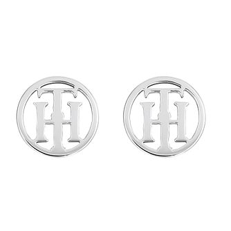 Tommy Hilfiger Stainless Steel Logo Stud Earrings - Product number 5250552