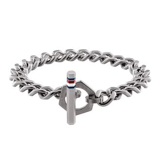 Tommy Hilfiger Men's Stainless Steel Toggle Chain Bracelet - Product number 5250676