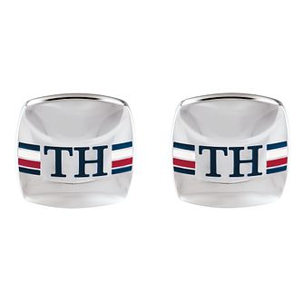 Tommy Hilfiger Rounded Square Stainless Steel Cufflinks - Product number 5250692