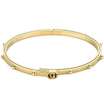 Gucci Running G 18ct Yellow Gold Bangle - Product number 5251699