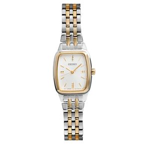 Seiko Ladies' Stainless Steel and Gold Bracelet Watch - Product number 5252709