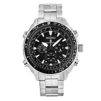 Seiko Prospex Men's Solar Stainless Steel Bracelet Watch - Product number 5252970