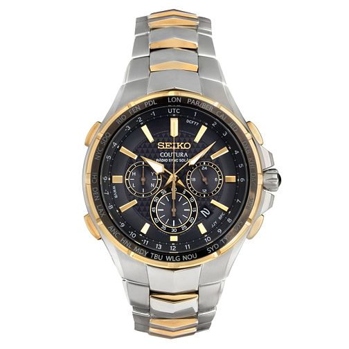 Seiko Coutura Men's Stainless Steel Bracelet Watch - Product number 5252989