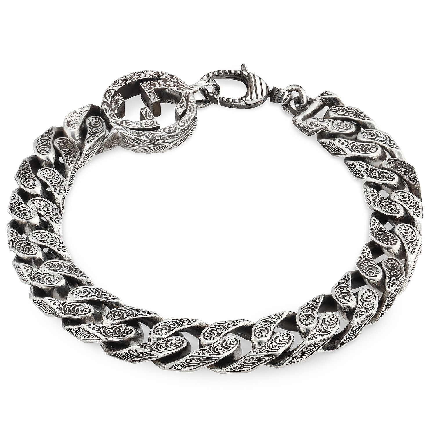 Gucci Interlocking G Silver Chain Bracelet - Product number 5253055
