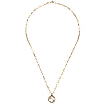 Gucci Interlocking G 18ct Yellow Gold Pendant - Product number 5253101