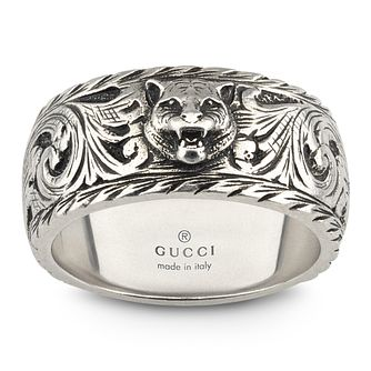 Gucci Garden Men's Silver Ring - Size R - Product number 5253470