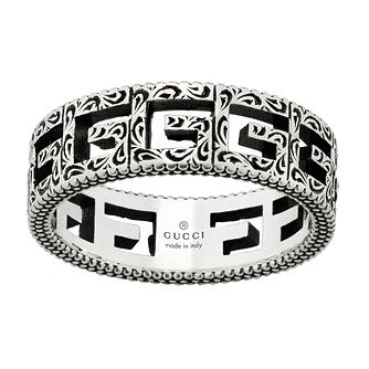 Gucci G-Cube Ladies' Silver Ring - Size M - Product number 5253578