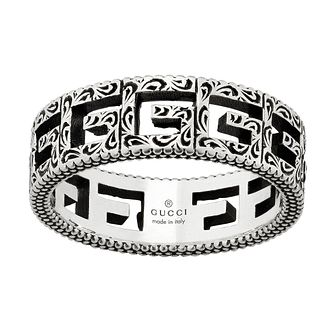 Gucci G-Cube Ladies' Silver Ring - Size N - Product number 5253586