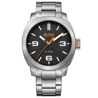 Boss Orange Capetown Men's Stainless Steel Bracelet Watch - Product number 5254159