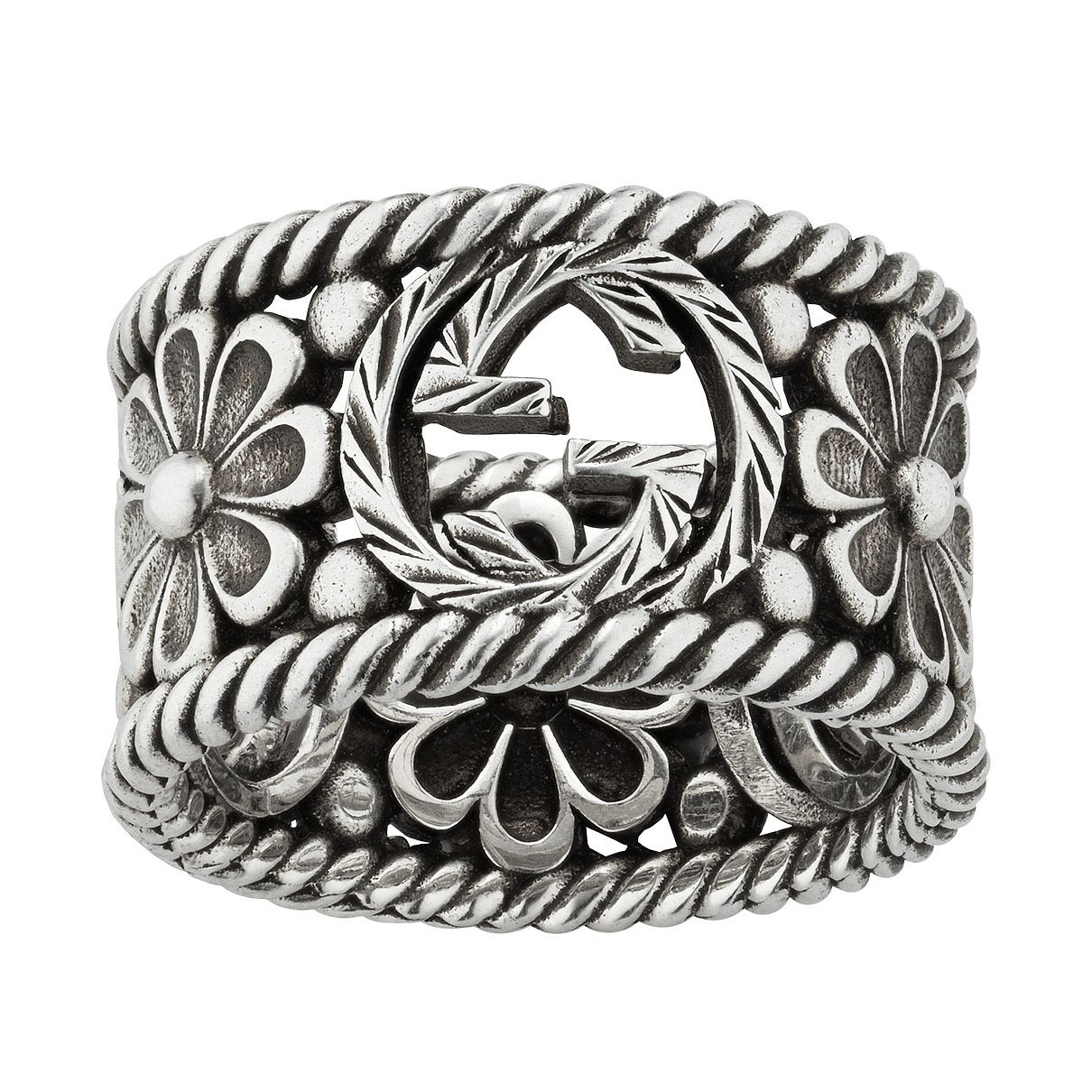 Gucci Interlocking G Flower Ring - Size N - Product number 5254779