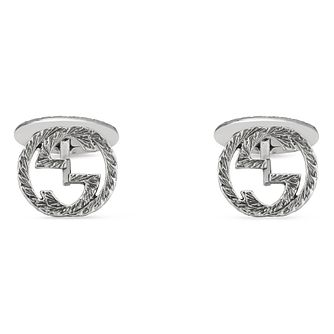 Gucci Interlocking Qxg' Silver Cufflinks - Product number 5254795