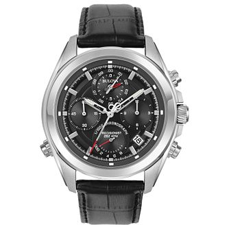 Bulova Precisionist Men's Stainless Steel Strap Watch - Product number 5257530