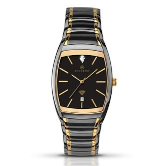Accurist Men's Two Tone Bracelet Watch - Product number 5266998
