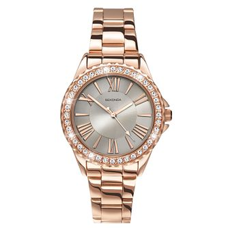 Sekonda Editions Ladies' Rose Gold-Plated Bracelet Watch - Product number 5267439