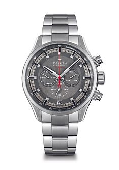 Zenith El Primero Sport Men's Stainless Steel Bracelet Watch - Product number 5275733