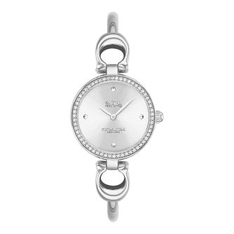 Coach Park Crystal Ladies' Stainless Steel Bracelet Watch - Product number 5275881